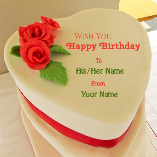 birthday wishes on cake with name and photo ; f1466a71d648b9f0af69a2e4a158f5f4