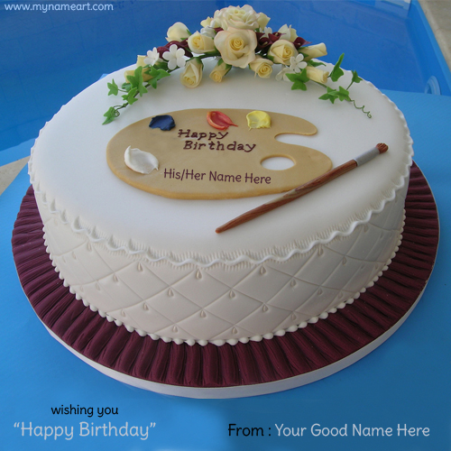 birthday wishes on cake with name and photo ; write-name-on-birthday-cake-with-his-her-name-demo