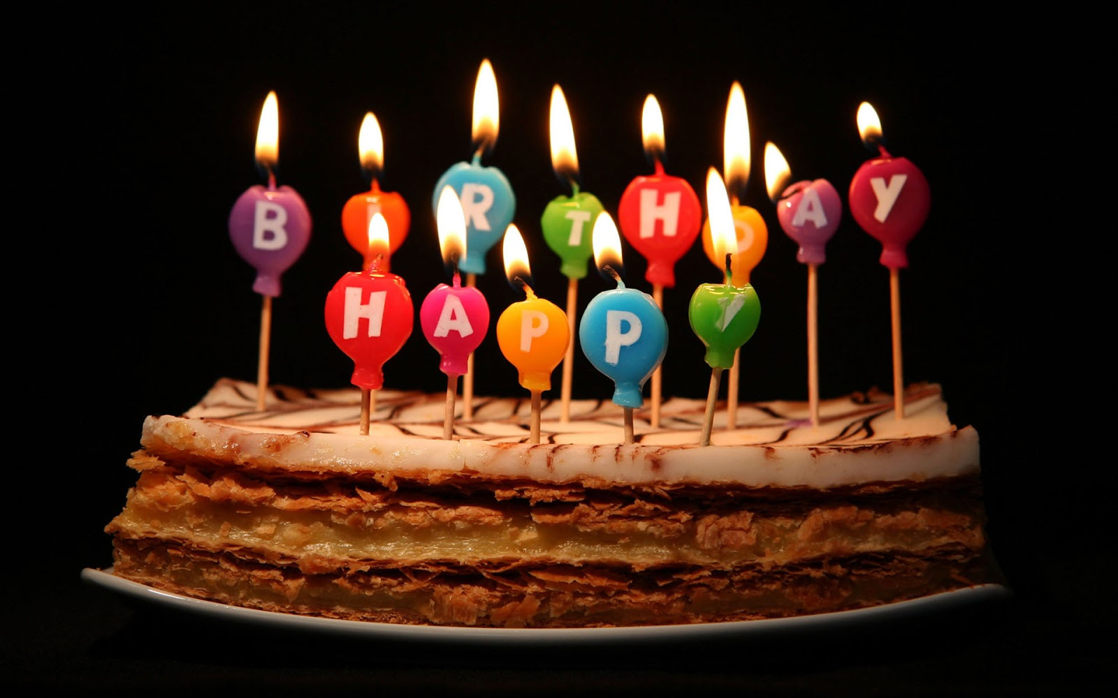 birthday wishes pics hd ; candles-birthday-cake-with-black-background-images