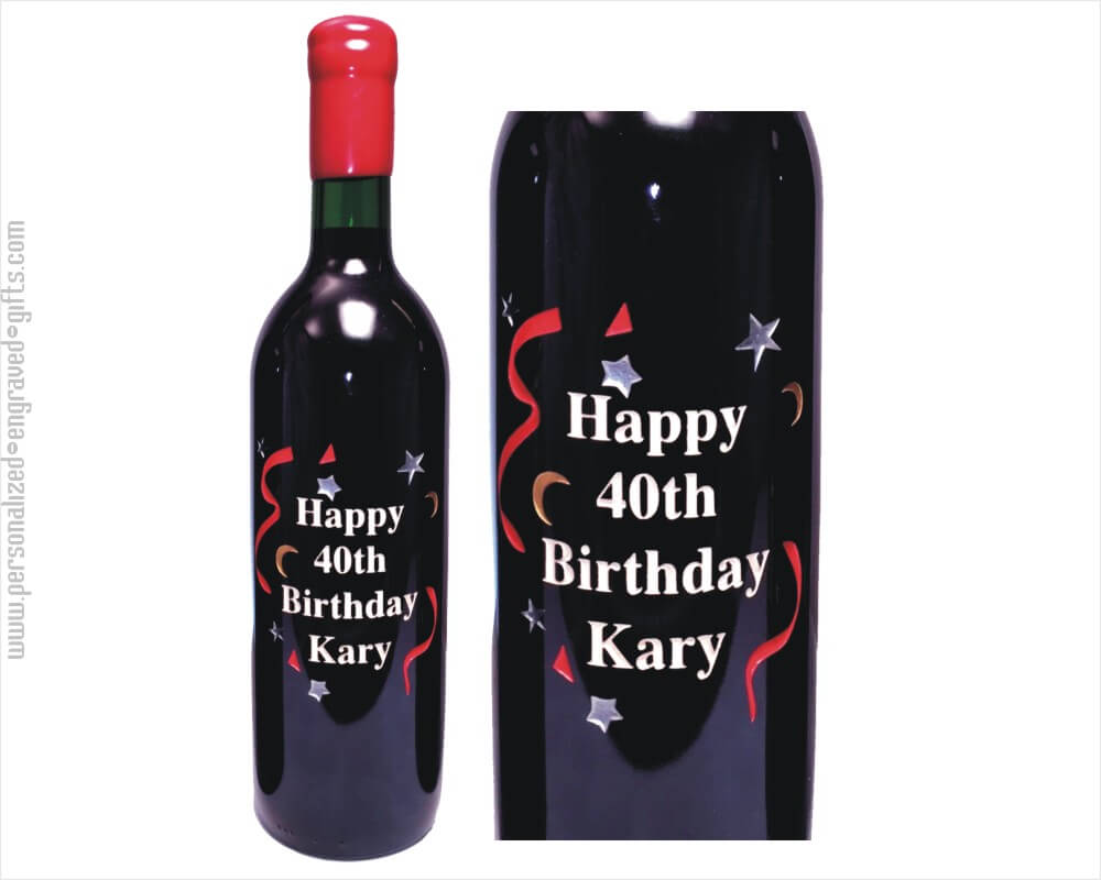 bottle of wine for birthday ; Engraved%2520Wine%2520Bottle%2520Happy%2520Birthday%2520Stars