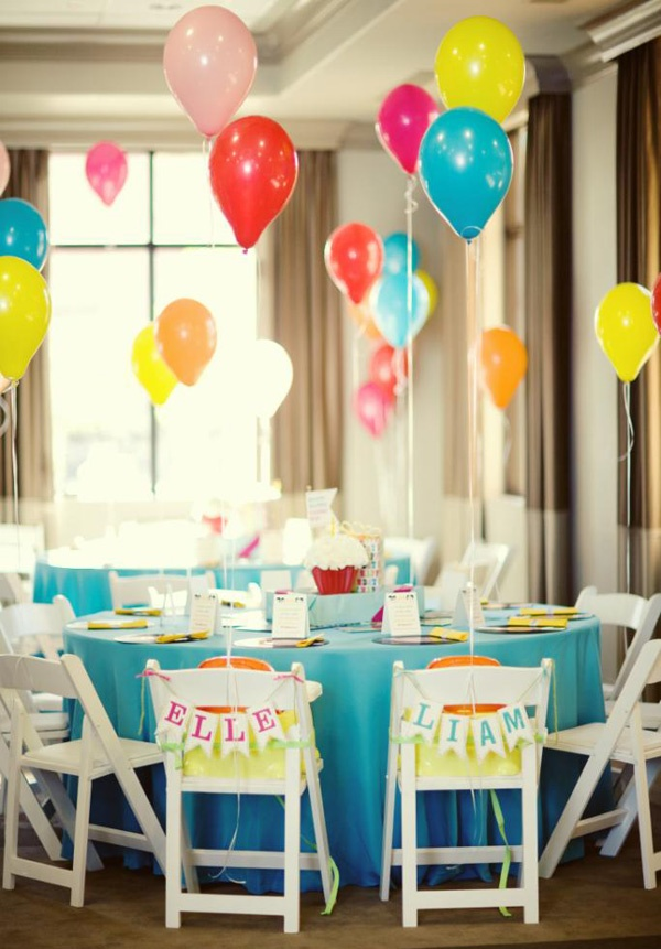 boy and girl birthday party ideas ; Beatles-Birthday-by-She-Paperie