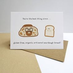 bread birthday card ; 3a11a68fbdb2d581f1969b43c86b27fc