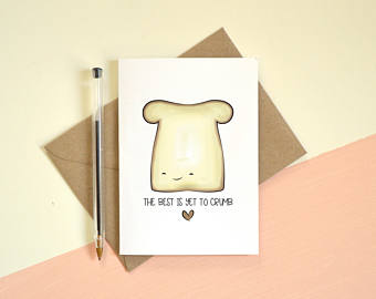 bread birthday card ; bread-birthday-card-il-340x270