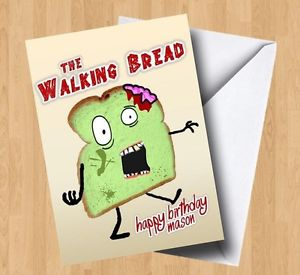 bread birthday card ; s-l300
