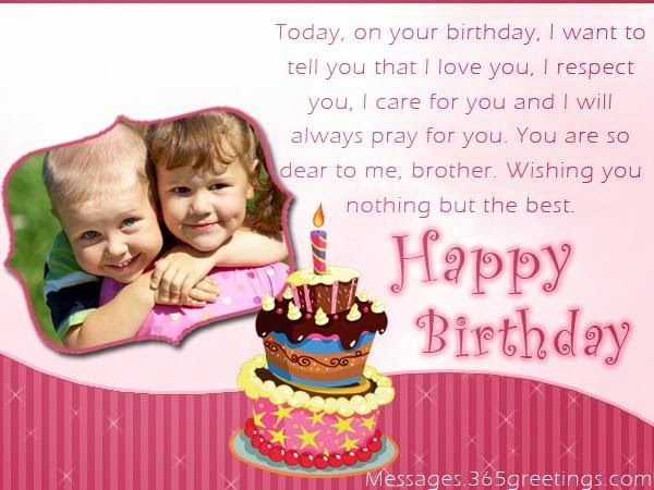brother birthday greetings message ; 6531f09ad13a5353a1a4b5ca99120978