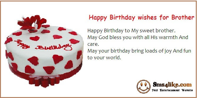 brother birthday greetings message ; Happy-Birthday-wishes-for-Brother2