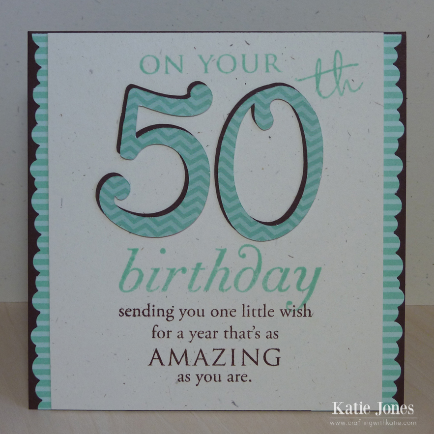 brother in law 50th birthday card ; 50th