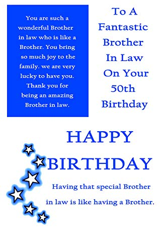 brother in law 50th birthday card ; 81QbzMsUXZL