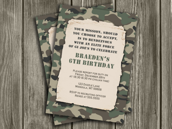 camo birthday card template ; Camo-Birthday-Invitations-Print