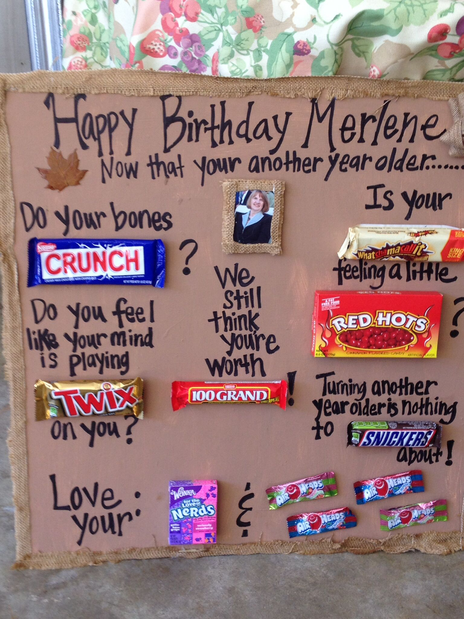 candy buffet poem for birthday ; cc223a77235c67e14e6759ab57717034