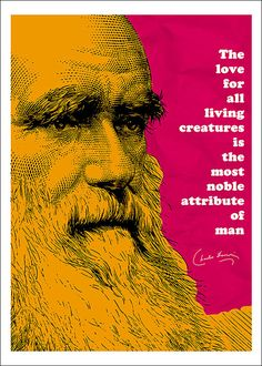 charles darwin birthday card ; f311371fced7bbf7f619ce45aff57c85--pop-art-posters-quote-posters
