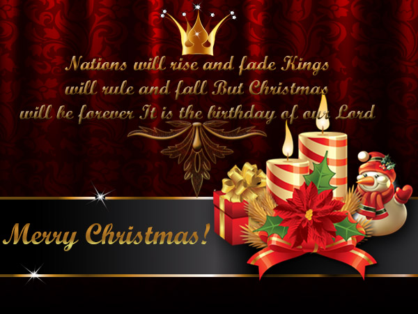 christmas and birthday card together ; religious-christmas-greeting-cards