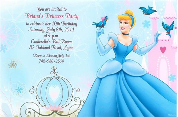 cinderella birthday card ; cinderella-birthday-invitations-and-your-gorgeous-Birthday-Invitation-Cards-invitation-card-design-using-popular-ornaments-7