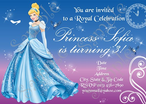 cinderella birthday card ; cinderella-birthday-party-invitations-awesome-Party-invitations-is-your-masterpiece-10