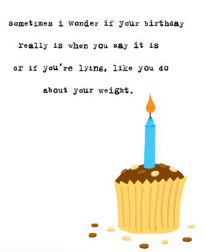 clever things to say on a birthday card ; uncooked_1