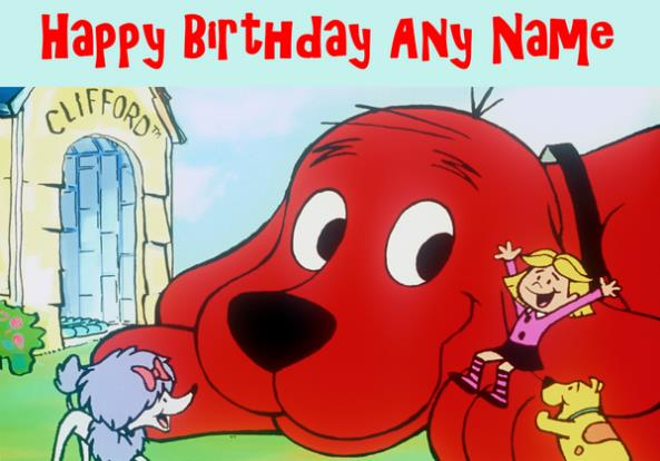 clifford the big red dog birthday card ; clifford-the-big-red-dog-birthday-card-1196-p