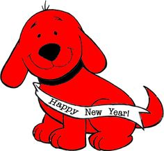 clifford the big red dog birthday card ; ec114e7e4a50e6b36ecbc1cbde8b0227--red-dog-happy-new-year