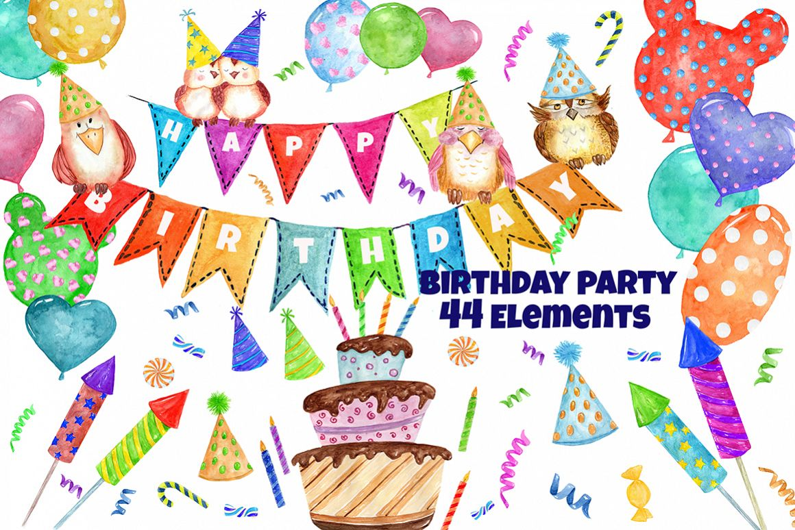 clip art birthday party pictures ; 5557b74c3e09606d243b1a7196a8fd18_resize