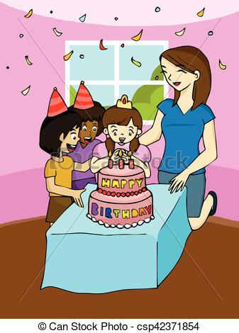 clip art birthday party pictures ; family-birthday-party-clipart-vector_csp42371854