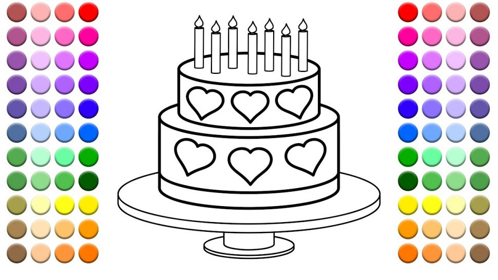 color a birthday cake ; birthday-cake-coloring-pages-books-and-learn-to-color-for-kids-this-multi-heart-layered-happy-printable-970x546