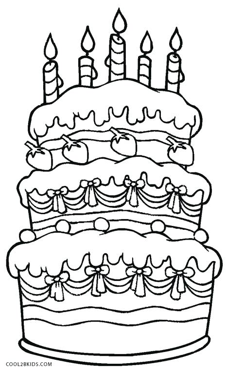 color a birthday cake ; cake-color-page-coloring-page-of-a-birthday-cake-birthday-cake-coloring-pages-free