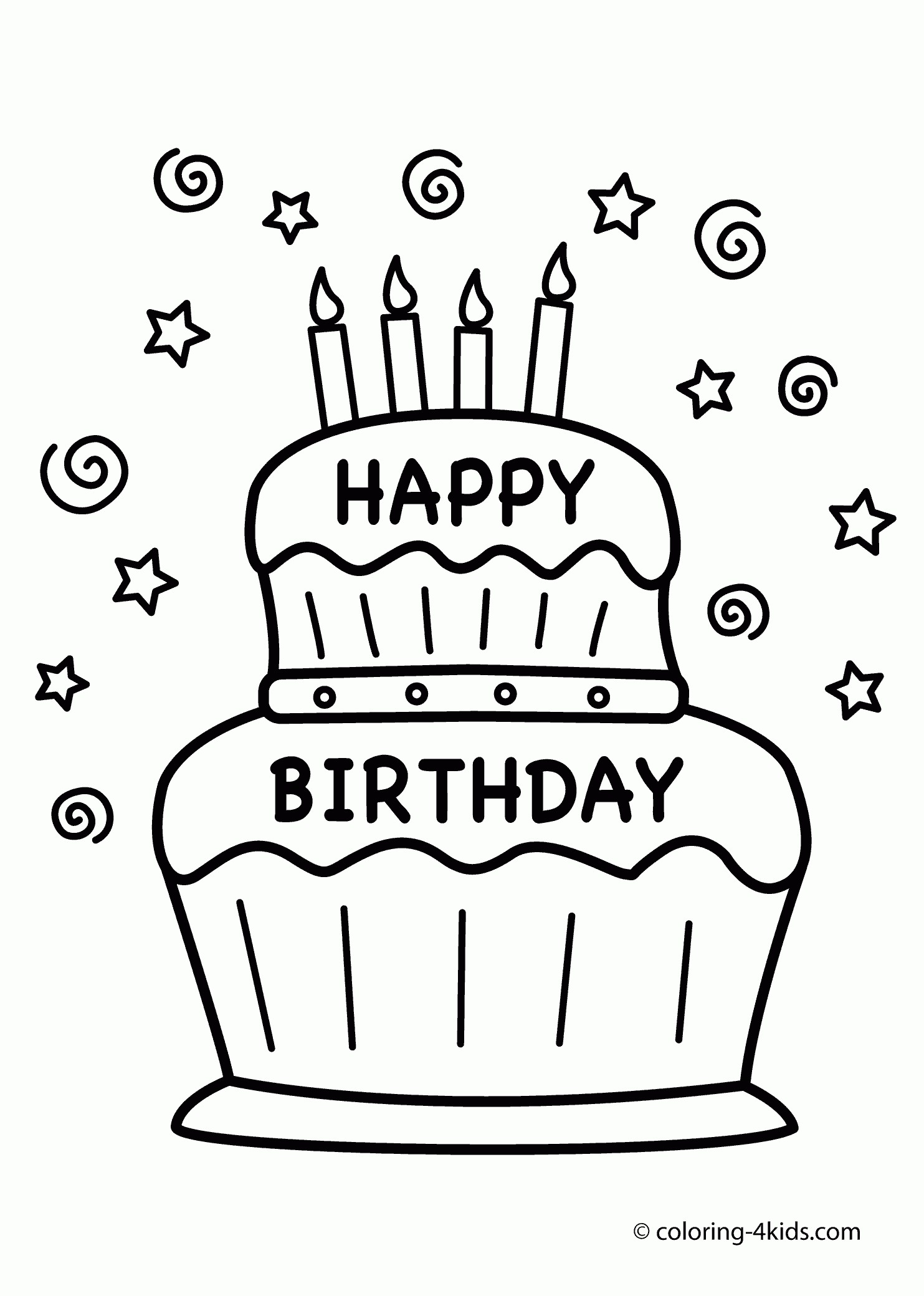 color a birthday cake ; coloring%2520book%2520birthday%2520cake%2520;%2520coloring-book-birthday-color-page-new-happy-pages-free-draw-of-1483x2079-21
