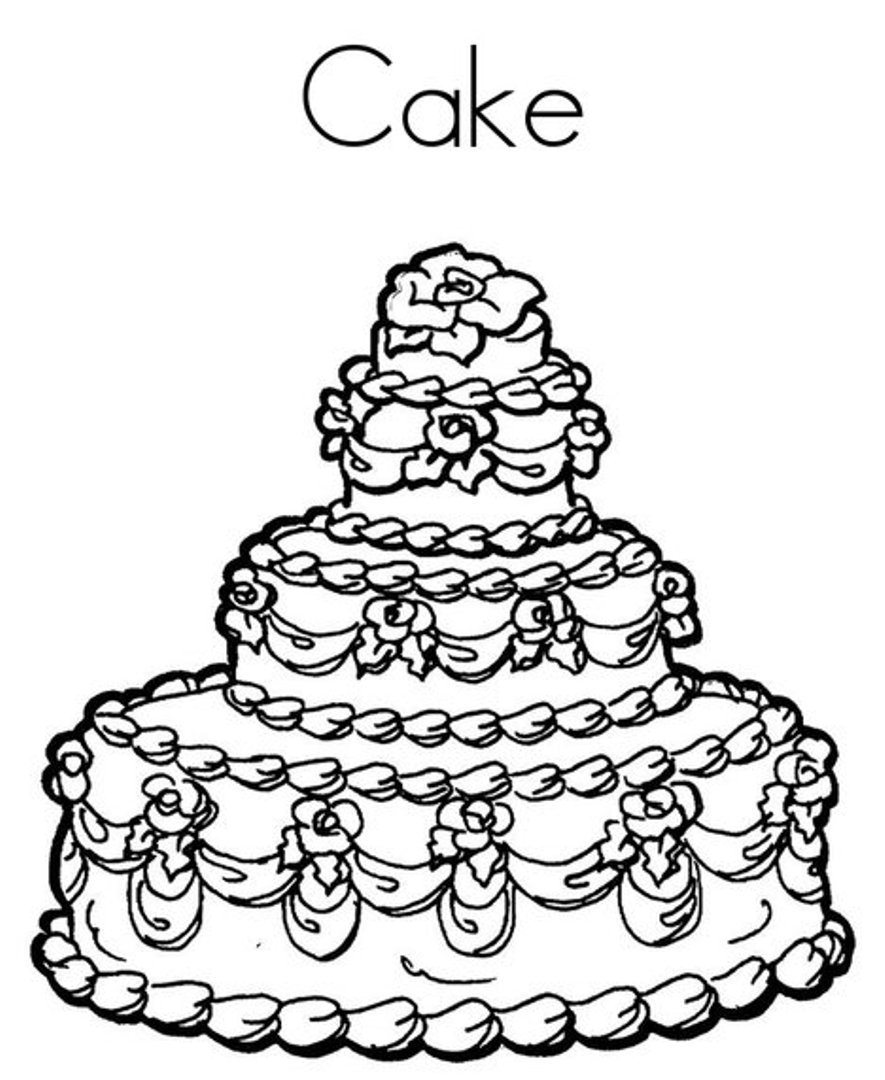 color a birthday cake ; free-coloring-pages-birthday-cake-best-of-page-with-wallpapers