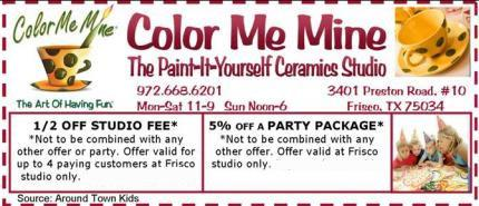 color me mine birthday party coupons ; ColorMeMineCpn2014-