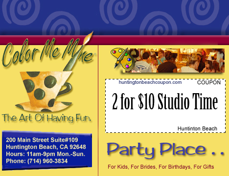 color me mine birthday party coupons ; colormemine