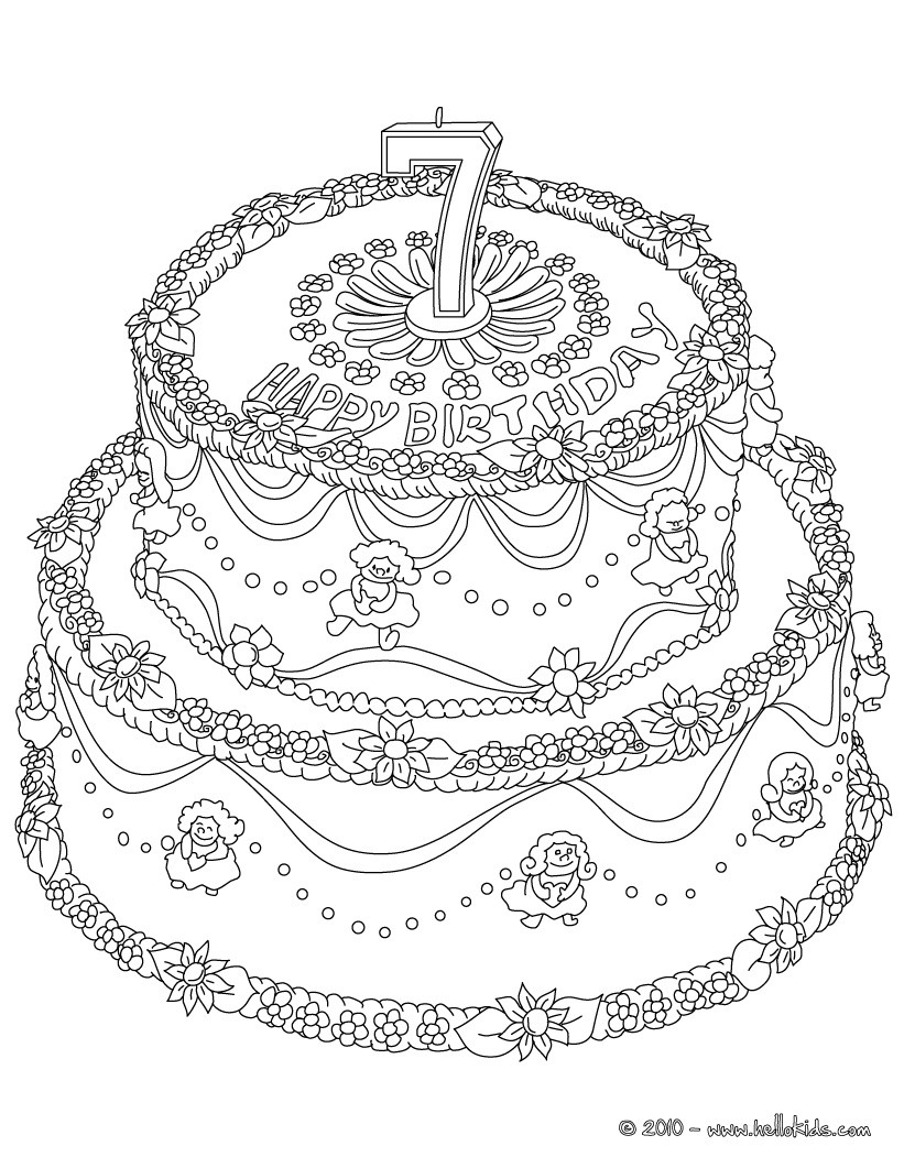 coloring pages for birthday cakes ; birthday-cake-number-7-01_jck_source