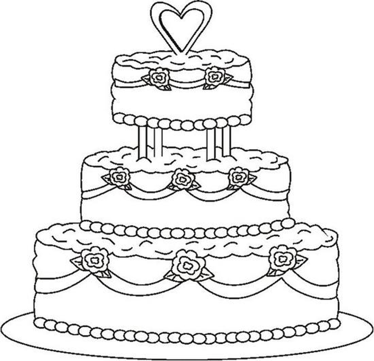coloring pages for birthday cakes ; competitive-birthday-cake-coloring-pages-superior-coloring-page-of-a-birthday-cake-112