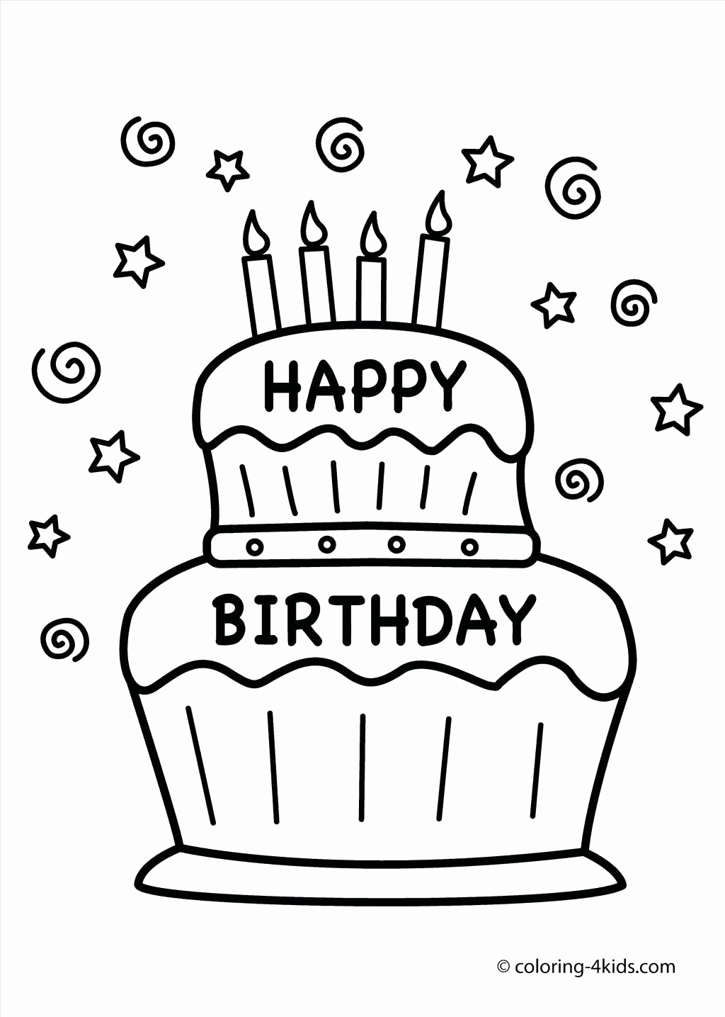 coloring pages for birthday cakes ; printable-birthday-coloring-pages-example-coloring-pages-birthday-cake-coloring-page-free-printable-birthday-of-printable-birthday-coloring-pages