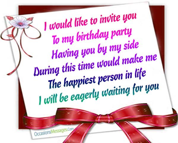 come to my birthday party invitation ; Birthday-invitation-wording-ideas