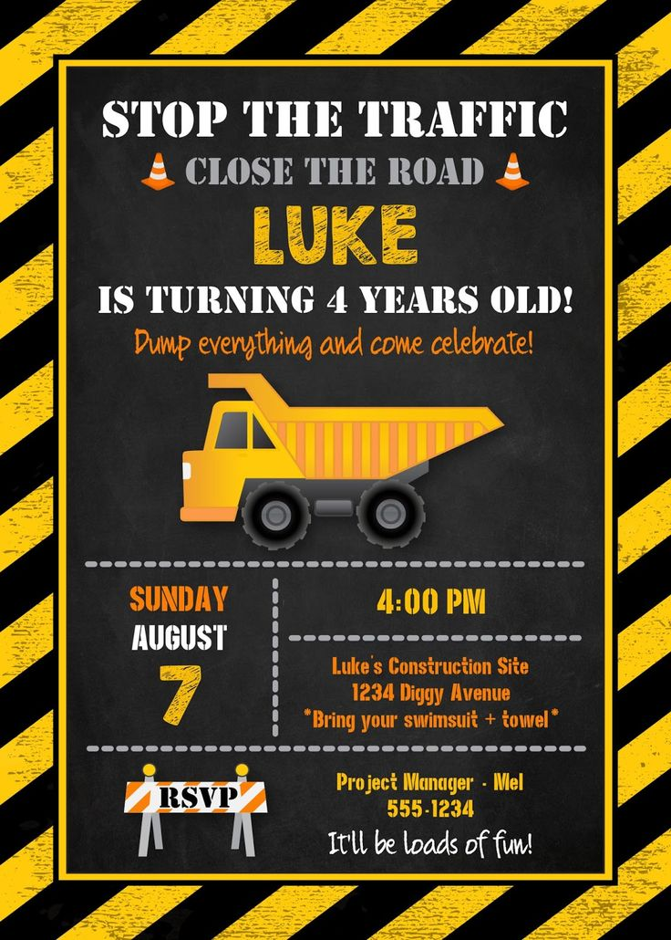 construction birthday party invitation templates ; construction-birthday-party-invitations-and-the-invitations-of-the-Birthday-Invitation-Templates-to-the-party-sketch-with-cool-idea-9