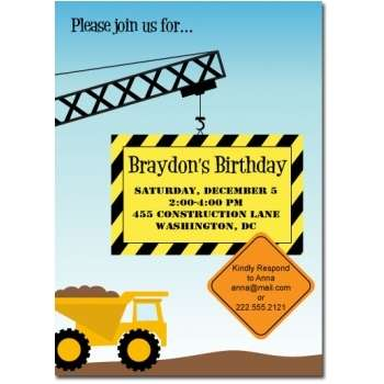 construction birthday party invitation templates ; construction-birthday-party-invitations-pretty-Party-invitations-as-your-best-friendship-appreciation-to-your-best-friends-12