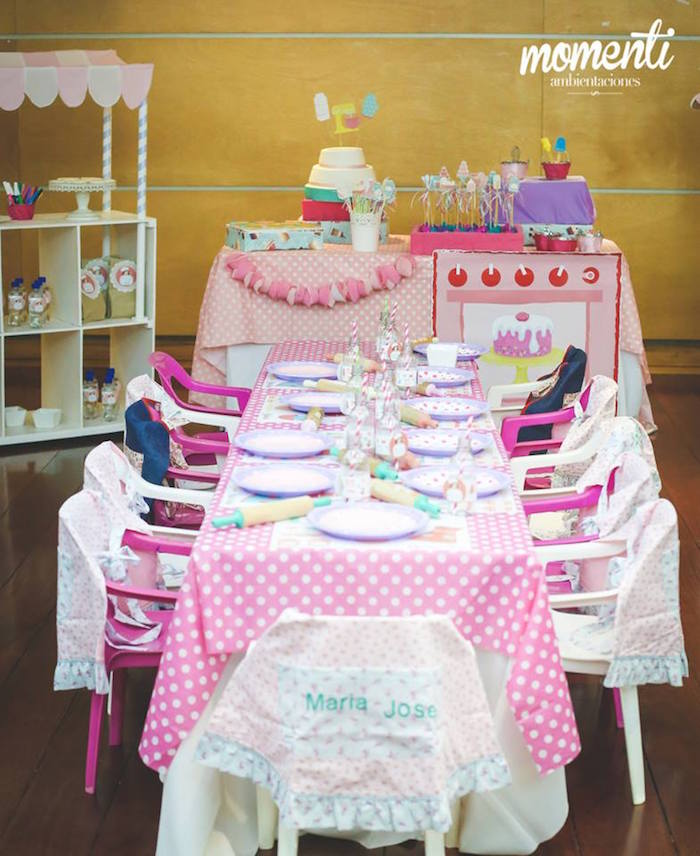cooking birthday party ; Bakery-Cooking-Themed-Birthday-Party-via-Karas-Party-Ideas-KarasPartyIdeas