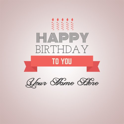create birthday card with name and photo online free ; 3