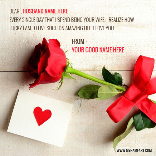create birthday card with name and photo online free ; love-quotes-for-husband-with-red-rose