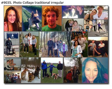 create birthday photo collage ; 9035_01-Photo-Collage-Traditional