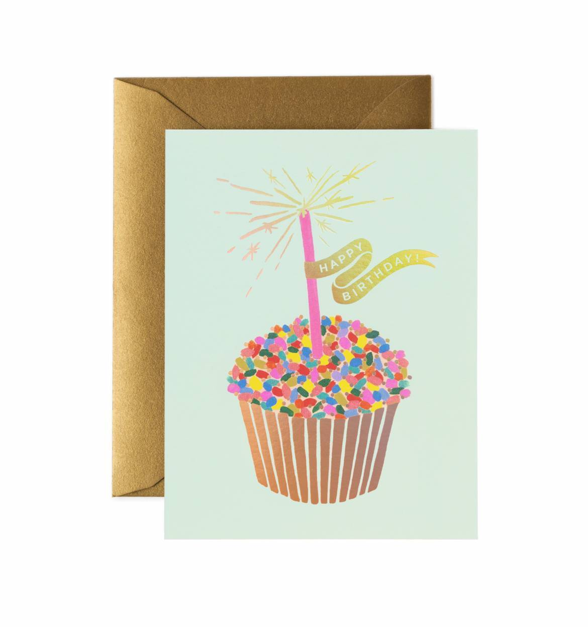 cupcake birthday card ; gcb051-cupcakebirthday-1