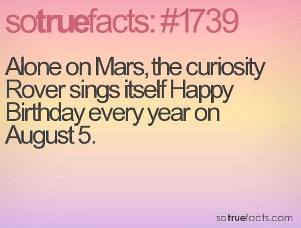 curiosity mars rover happy birthday ; 1739