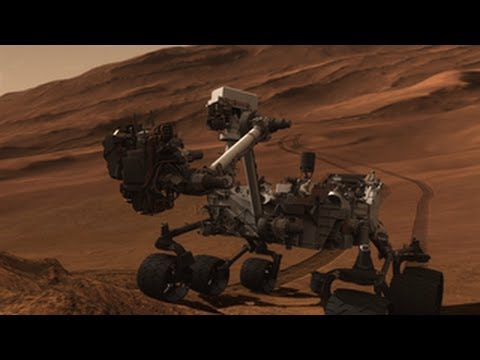 curiosity mars rover happy birthday ; hqdefault
