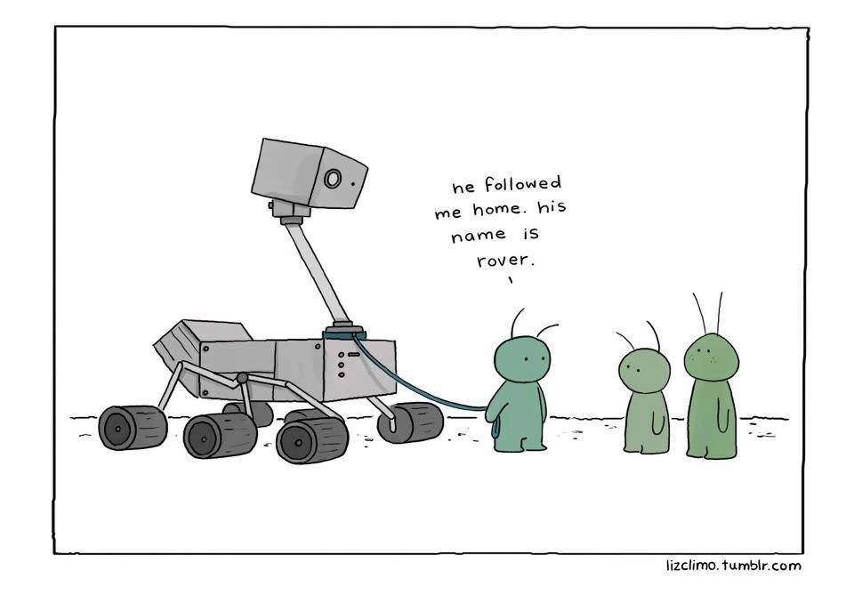 curiosity mars rover happy birthday ; mars+rover+curiosity