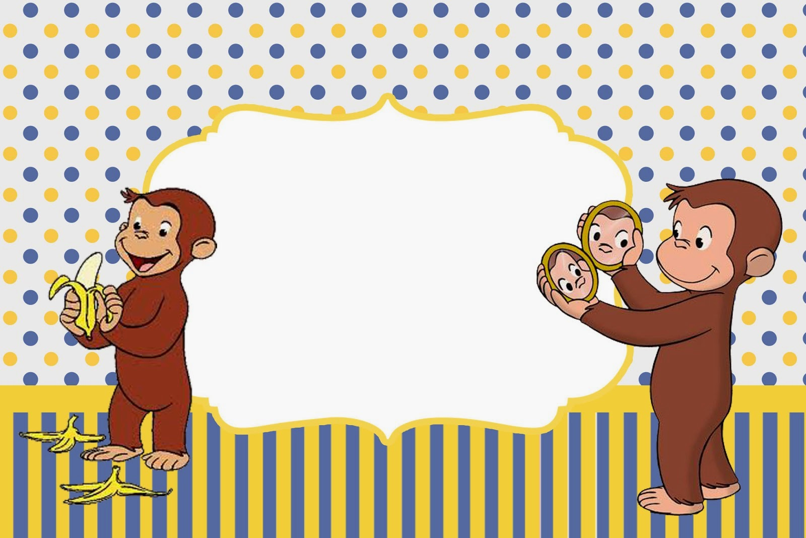 curious george birthday invitation template ; Curious-George-Birthday-Invitations-Template