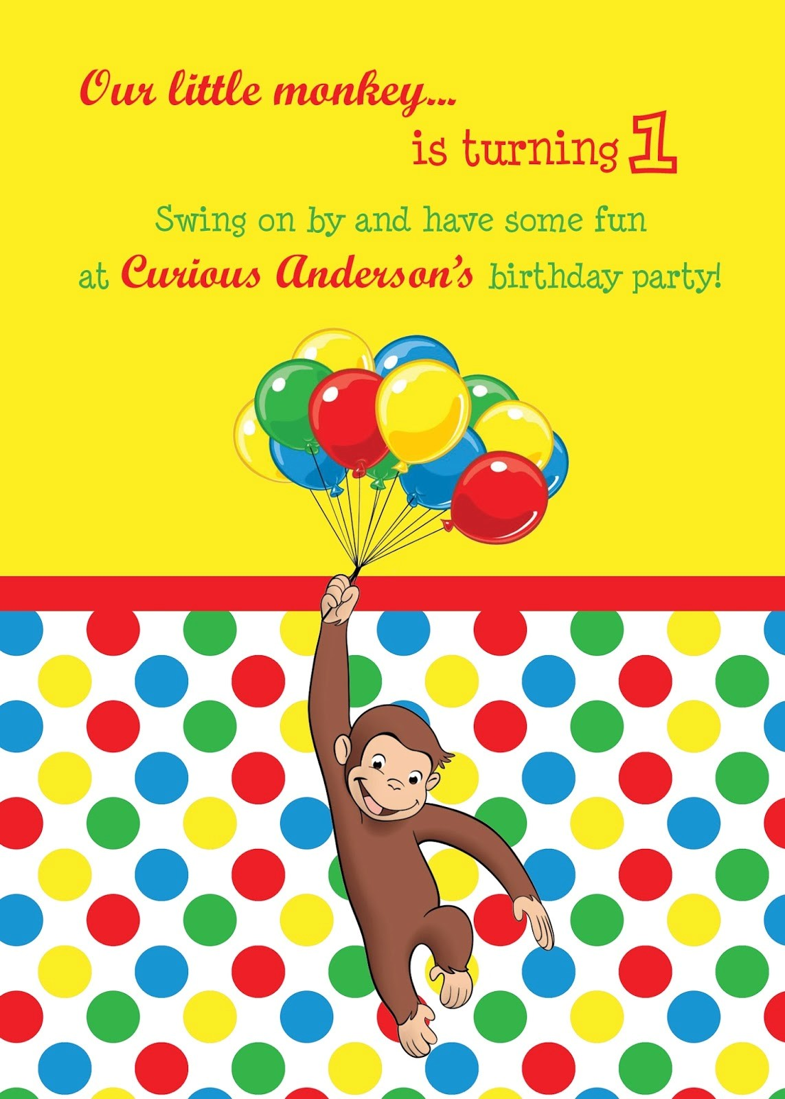 curious george birthday invitation template ; Terrific-Curious-George-Birthday-Invitations-As-Prepossessing-Ideas-Birthday-Invitation-Templates