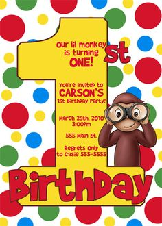 curious george birthday invitation template ; curious-george-birthday-invitations-together-with-a-picturesque-view-of-your-Baby-Shower-Invitation-Templates-using-exceptional-invitations-11