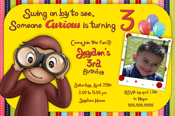 curious george birthday invitation template ; curious-george-birthday-invitations-using-an-excellent-design-idea-aimed-to-prettify-your-Baby-Shower-Invitation-Templates-15