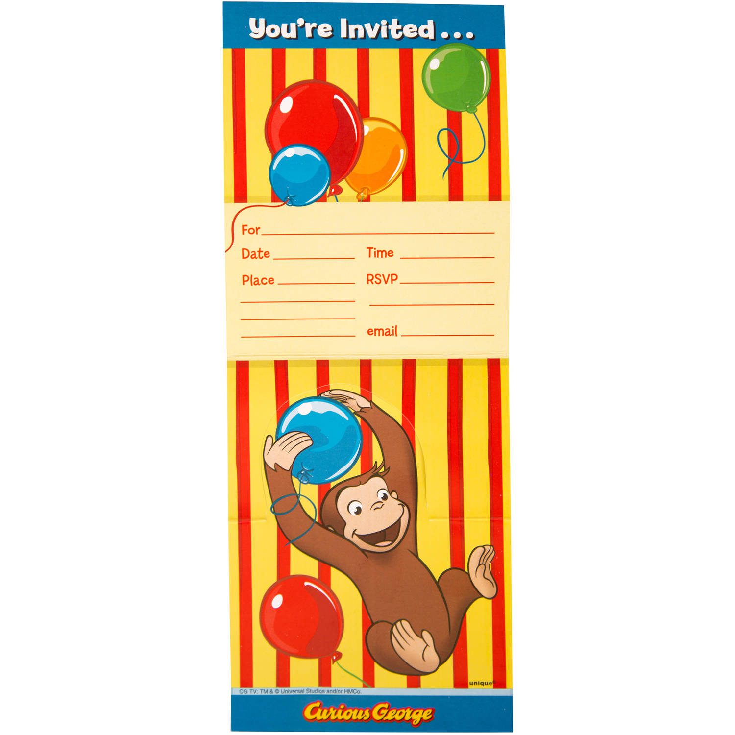 curious george birthday invitation template ; curious-george-party-invitations-for-your-Party-Invitation-Templates-with-nice-looking-design-idea-15