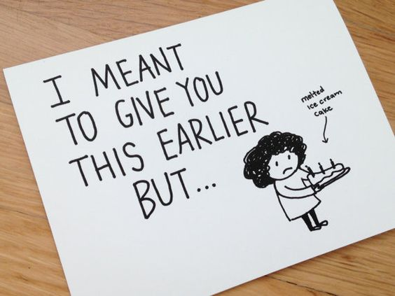 cute birthday card designs ; funny-homemade-birthday-card-ideas-best-friend-birthday-card-ideas-funny-belated-i-meant-to-by-euclid-street-shop-completing-with-simple-and-classic-design