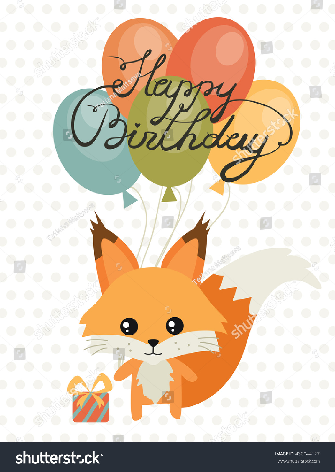 cute birthday pics ; stock-vector-happy-birthday-card-for-birthday-with-cute-squirrel-and-calligraphy-children-s-birthday-party-430044127